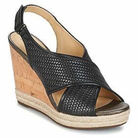 Geox  JANIRA C  women's Sandals in Black