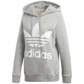 adidas  Trefoil  women's Sweatshirt in Grey
