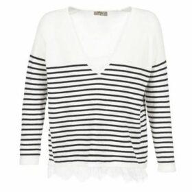 Betty London  HOUTETO  women's Sweater in White