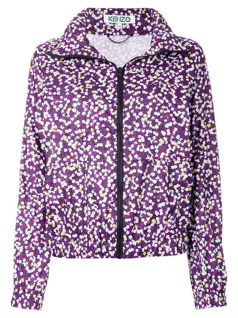 Kenzo floral jacket - Purple