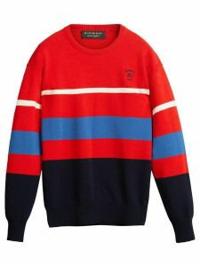 Burberry reissued 1980s striped jumper - Red