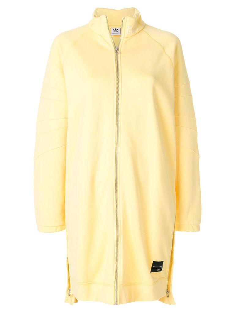 Adidas EQT track jacket - Yellow & Orange