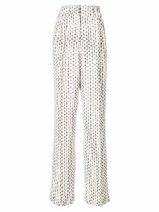 Etro paisley print high-waisted trousers - NEUTRALS