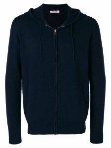 Liska cashmere hooded sweatshirt - Blue