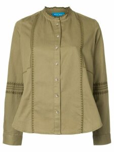 Mih Jeans Joni poplin shirt - Green