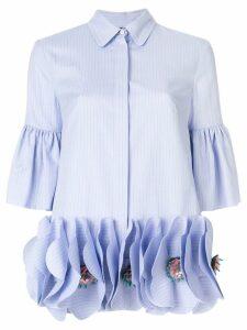 Talbot Runhof Palissy1 shirt - Blue