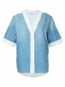 Golden Goose denim shirt - Blue