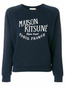 Maison Kitsuné Palais Royal sweatshirt - Blue