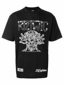 KTZ arm vision print T-shirt - Black