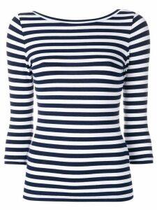 Natasha Zinko striped T-shirt - Blue