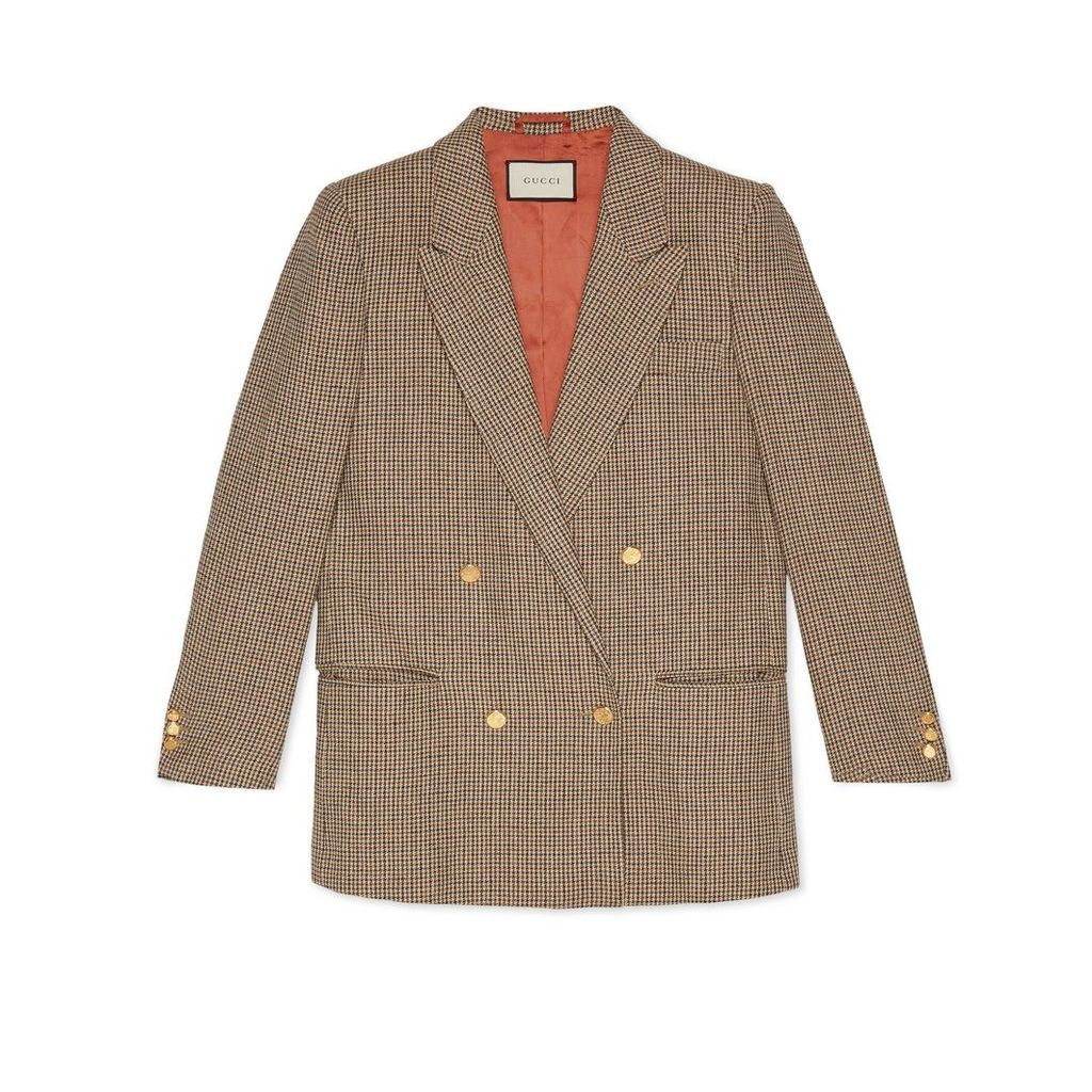Linen jacket with