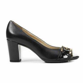 D Annya SP C Leather Heels.