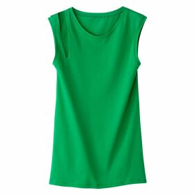 Vest Top with Cut Out Detail