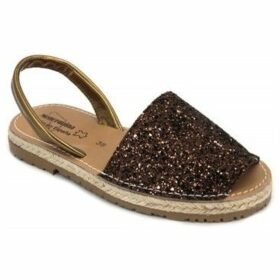 Calzados Vesga  550 Glitter  women's Sandals in Brown