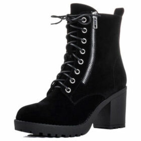 Spylovebuy  Rock  women's Low Ankle Boots in Black