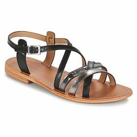 Les Tropéziennes par M Belarbi  HAPAX  women's Sandals in Black