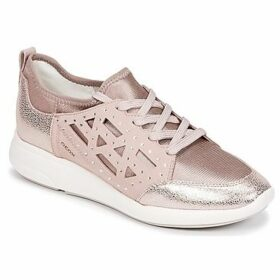 Geox  D OPHIRA B  women's Shoes (Trainers) in Pink