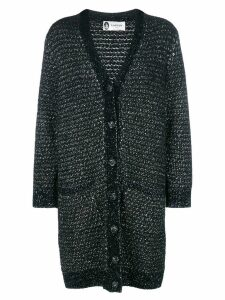 LANVIN mid-length cardigan - Black