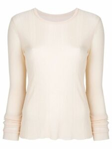 Maison Margiela long-sleeve sweater - Neutrals