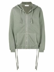Faith Connexion zipped hoodie - Green