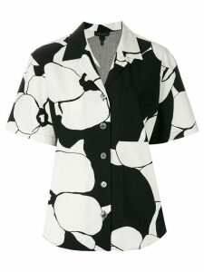 Marc Jacobs floral-print shirt - Black