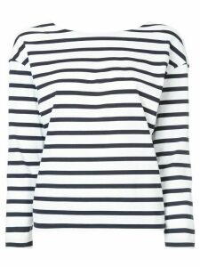 Loveless striped top - Black