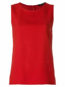 Styland crepe tank top - Red