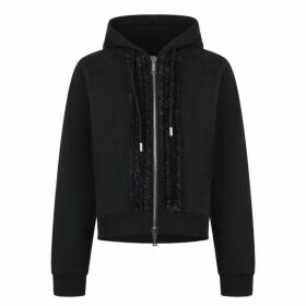 DSquared2 Dyed Zip Hooded Sweatshirt