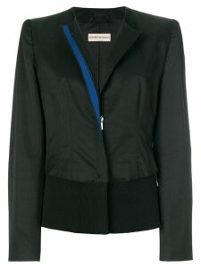 Giorgio Armani Pre-Owned collarless jacket - Black