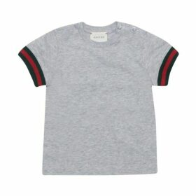 Gucci Short Sleeve Cotton T Shirt