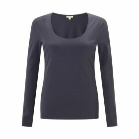 Jigsaw Double Front Scoop T-shirt