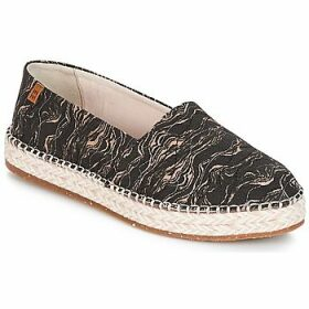 El Naturalista  SEAWEED CANVAS  women's Espadrilles / Casual Shoes in Black