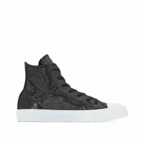 CTAS HI Tipped Metallic High Top Trainers