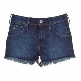 G-Star Raw  ARC MID SHORT RP WMN  women's Shorts in Blue