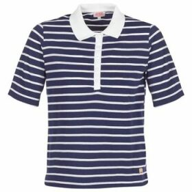 Armor Lux  POLAED  women's Polo shirt in Blue