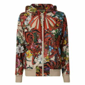 Gucci Zipped Hooded Sweatshirt