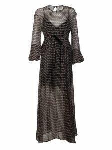 Dondup Tie Waist Dress