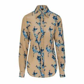 Sophie Cameron Davies - Cherry Blossom Silk Shirt