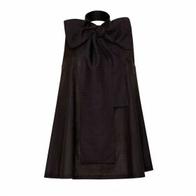 Bo Carter - Eda Bow Blouse Black