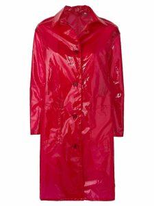 Aspesi Gelée raincoat - Red