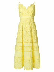 Three Floor Zest dress - Yellow