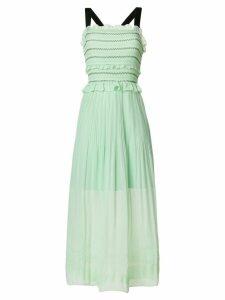 Three Floor Springfall midi dress - Green
