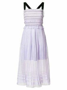 Three Floor Blushin' midi dress - PINK