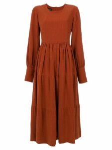 Olympiah Inca dress - Brown