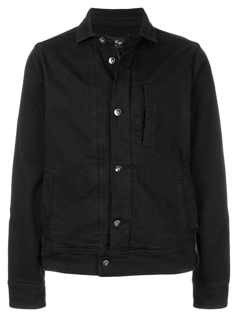 Andrea Ya'aqov Giubbino denim jacket - Black