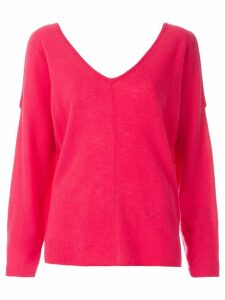 Max & Moi cold shoulder jumper - Pink