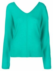 Max & Moi shoulder slit jumper - Blue