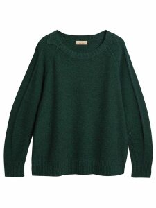Burberry melange sweater - Green