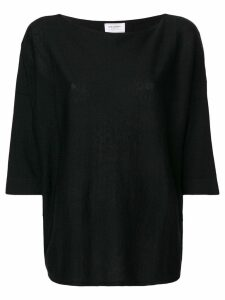 Snobby Sheep cropped sleeves jumper - Black