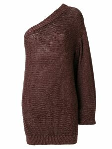 Stella McCartney one shoulder sweater - Brown